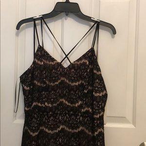 Black lace GB dress
